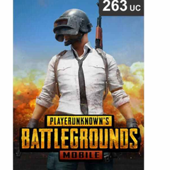 PUBG 263 UC Voucher Game