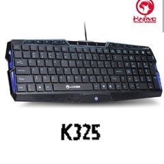 Marvo Keyboard Gaming K325 Wired Compact Keyboard