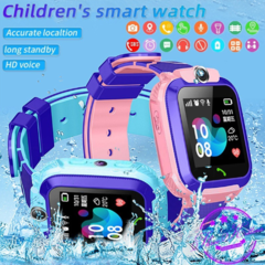 Smartwatch Anak Q12 Smart Watch SOS Jam Tangan Children Anti Air Cerdas Menonton SIM Card Q12B