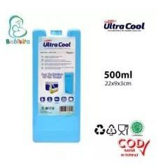 Ultracool Blue Ice Pack Gel Food Grade Sertifikasi Halal Bahan Aman Reguler Uk. 600 gr