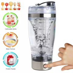 450 ML Automatic Electrical Protein Fitness Shaker Bottle Lazy stainless steel coffee cup protein powder fitness shake cup Vortex Mixer Cup