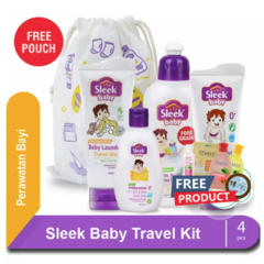 Sleek Baby Travel Kit