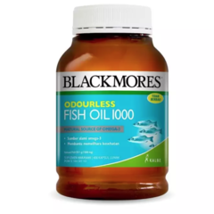 Blackmores Odourless Fish Oil 1000 (400)