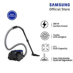 Samsung Canister Vacuum Cleaner, 380 W - VC18M2120SB/SE