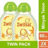 Zwitsal Baby Natural Minyak Telon - 60ml - TWIN PACK