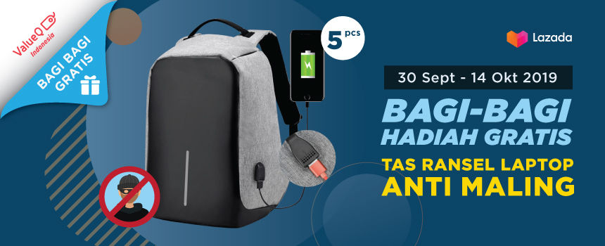 GIVEAWAY TAS RANSEL ANTI MALING! photo1