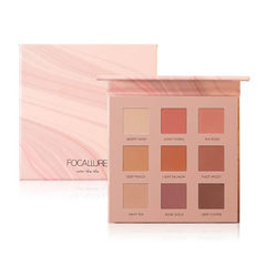 FOCALLURE 9-PAN Eyeshadow Palette #2 Ring The Alarm - FA62-02