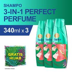 Rejoice 3-in-1 Perfect Perfume Sampo 340 ml - Paket isi 3