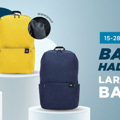 BAGI BAGI GRATIS XIAOMI ORIGINAL BACKPACK