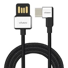 VIVAN Gamers Fast Charging Type-C Data Cable BWC100 Black
