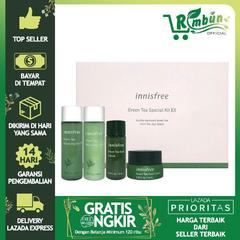 Innisfree Green Tea Special Kit EX 4 items - 1 Set