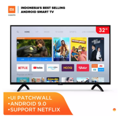 Xiaomi MI LED TV 32 inch - Patchwall UI - Certified AndroidTV 9.0 - Voice Remote - Netflix (Model : 4A32)