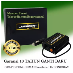 MINICON Alat Penghemat BBM & Car Stabilizer mini con FREE SOCKET LIGHTER