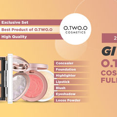 GIVEAWAY FULL SET MAKEUP DAN COSMETIC O.TWO.O