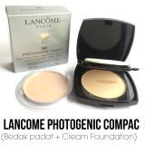 Bedak Lancome Bedak Compact 2in1 Powder #302 - Natural Beige