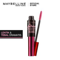 Maybelline Push Up Drama Mascara - Make Up - Black [ Maskara Waterproof Hitam ]