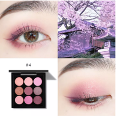 FOCALLURE Glitter Eyeshadow Palette 9 Colours easy to blend professional Eye makeup FA36