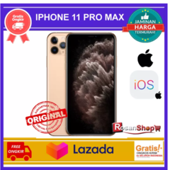 Apple iPhone 11 Pro Max - 512gb, 256gb, 64Gb - BNIB ORIGINAL Singapore - Garansi 1 Tahun inter