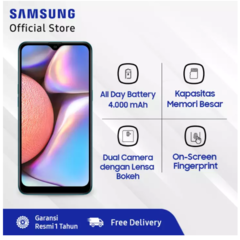 Samsung Galaxy A10s - 2GB/32GB - 13MP - MT6762 Helio P22 - 4000 mAh