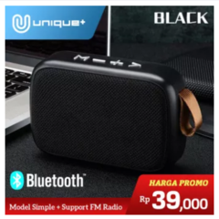 Speaker Bluetooth Wireless Portable New CHARGE G2 Lapis Bahan Kain Fabric Support TF Card USB FM Radio For Laptop Tablet Smartphone Android & iOS Phone