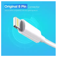 USB Cable for iPhone X Xs Max XR 2.4A Fast Charging USB Charger Data Cable for iPhone Cable 8 7 6
