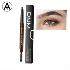 DNM pensil alis kuas 2in1 Automatic Eyebrow / Pensil Alis Anti Air / Pensil Alis Putar Drawing