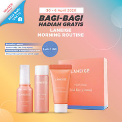 GIVEAWAY LANEIGE MORNING ROUTINE SET