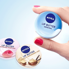 **NEW** Nivea Lip Butter - Lip Balm Blueberry Blush Lip Balm dan Oil