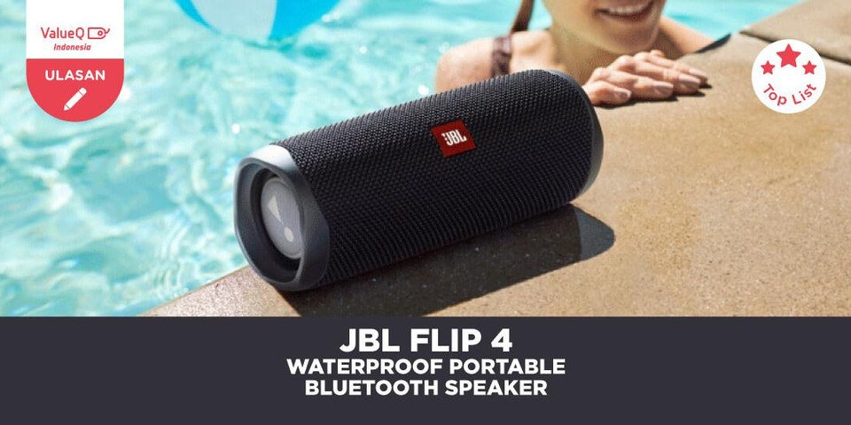 JBL Flip 4 : Speaker Bluetooth Portable yang Tahan Air