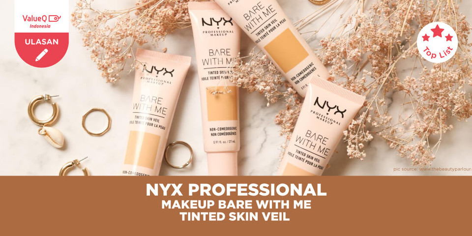 REVIEW NYX BARE WITH ME TINTED SKIN VEIL