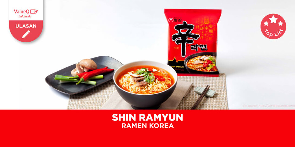 REVIEW ORIGINAL SHIN RAMYUN KOREA