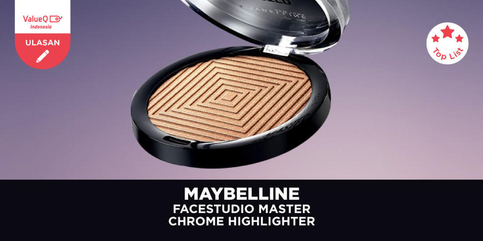 Maybelline Facestudio Master Chrome Highlighter