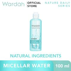 WARDAH Seaweed Cleansing Micellar Water 100 ml - Pembersih Make Up