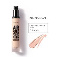 FA66 FOCALLURE Air Fluid Foundation Long Lasting Liquid Foundation 5 Colours