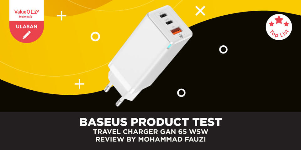Baseus Travel Charging Quick Charge 65W Review by Mohammad Fauzi