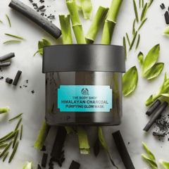 Terlaris THE BODY SHOP HIMALAYAN CHARCOAL PURIFYING GLOW MASK ( Masker