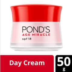 Ponds Age Miracle Day Cream Moisturizer Krim Wajah Youthful Glow 50g