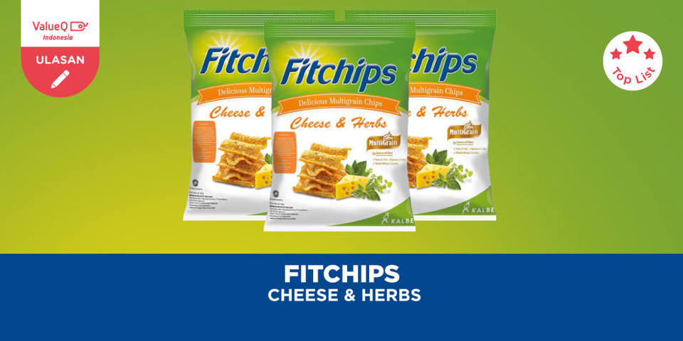 Fitchips Cheese and Herbs, Camilan Sehat dan Enak