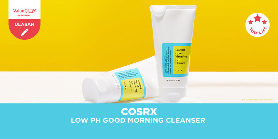COSRX Low pH Good Morning Gel Cleanser Sabun Cuci Muka Alami dengan pH Seimbang