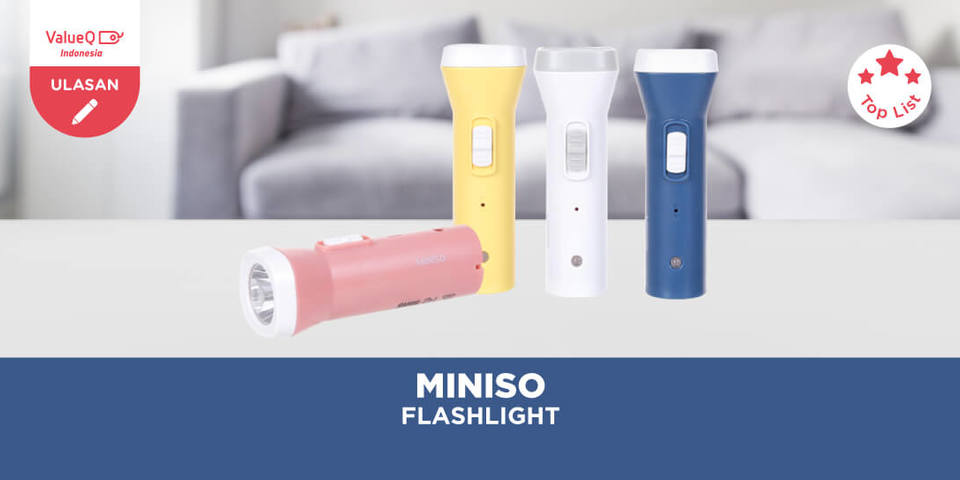 Miniso Official Flashlight, Senter Keren Serbaguna