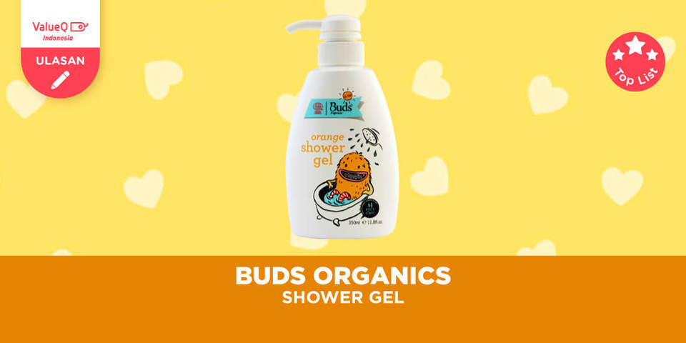 Buds Organics BFK - Orange Shower Gel, Sabun Mandi Anak Organik