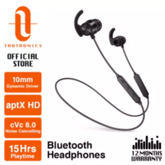 TaoTronics BH065 aptX HD cVc 8.0 Noise Cancelling with microphone ,earphone bluetooth earphone 【TT-BH07S Boost】