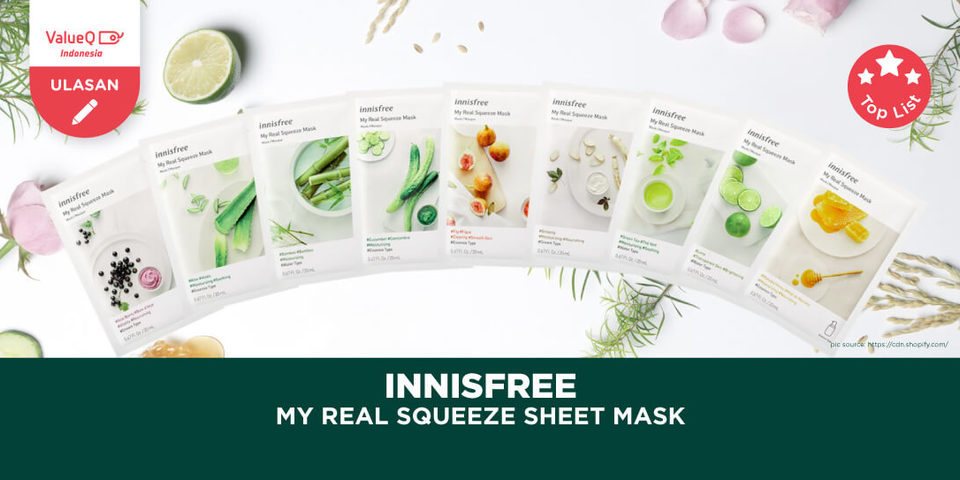 Innisfree Mask Sheet Review