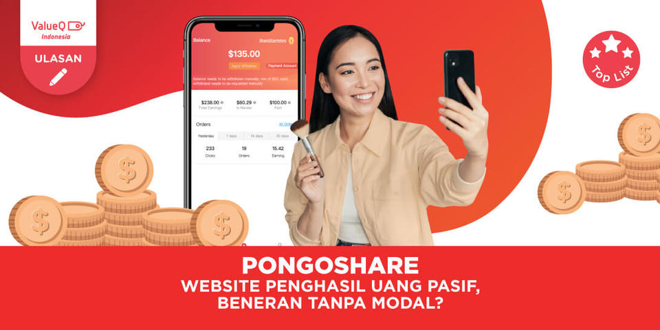 Pongoshare Affiliate Marketing Beneran Bisa Kasih Passive Income Tanpa Modal